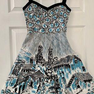 BCBG MAXAZRIA Parisian Strap Dress